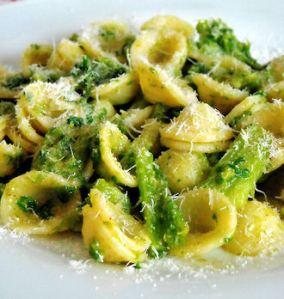 Orecchiette con Cime di Rapa is one of the most satisfying ways to serve this exquisite brassica.