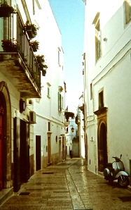 Our new home in Martina Franca.