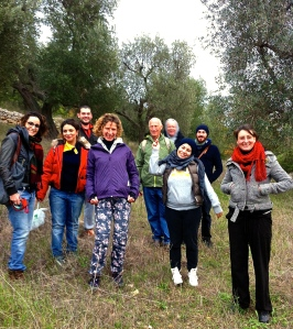 We join friends to search for wild herbs and greens in Pascarosa.