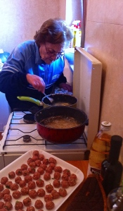 Italian grandmothers are indisputably in charge at Sunday lunch.