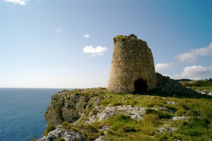 Menhir, or watchtowers, dot the Salento coastline.