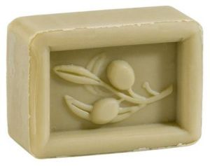 Facial soap made with extra virgin olive oil.
