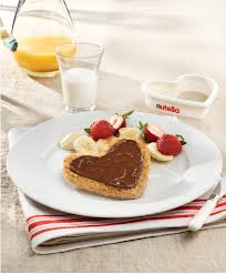 Healthy Nutella Breakfast