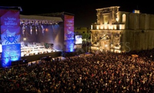 Last year's Notte della Taranta concert in Melpignano hosted over 200,000 people.