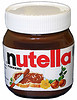 Classic Nutella jar beloved by millions.