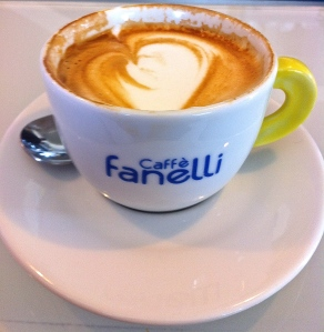 Cappuccio is enjoyed in Italy in the morning and only in the morning.
