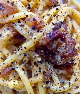 Roman to its core, Spaghetti alla Carbonara is full of flavor and as rich as can be.