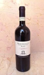 Delicious Montefalco Rosso Riseva 2006 from Antonelli San Marco from Montefalco near Perugia, Umbria.