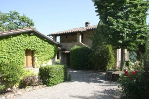 The Umbrian house where we lived with our three young children.