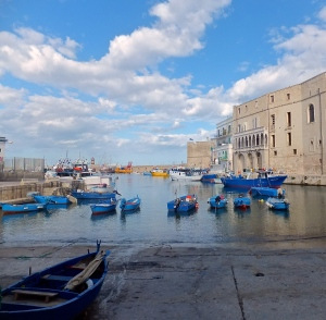 The old fishing harbor in Monopoli on the Adriatic coast in Puglia is just one of the charming towns worth visiting here.