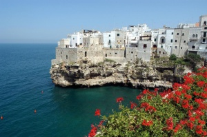 Polignano a Mare, one of Puglia's seaside jewel-like towns to visit.