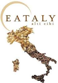 "Eataly's logo celebrates ""high level food."""