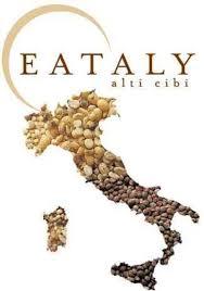"""Eataly's logo celebrates """"high level food."""""""