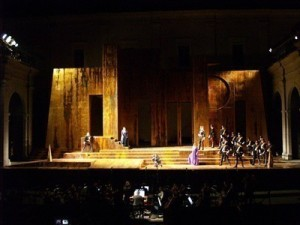 Martina Franca's ducal palace is the stage for opera at the Festival della Valle d'Itria.