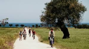 Cycling on backrounds through olive groves is just one of the ways I Millenari di Puglia founders are connecting visitors with the natural landscape in Puglia.