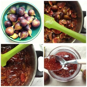 Deeply flavorful fig jam from cookbook author Domenica Marchetti.