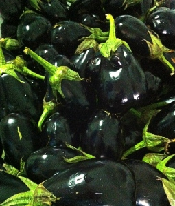 These eggplants (literally) made the cut for melanzane a fette or preserved sliced eggplant.