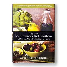 Nancy Harmon Jenkins's capolavoro or masterpiece, The New Mediterranean Diet Cookbook. It's the definitive work on the traditional cuisine of the Mediterranean and a terrific starting place to incorporate the healthiest diet in the world into your life.