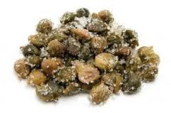 Capers packed in salt have a more pronounced caper-y flavor than capers in brine.