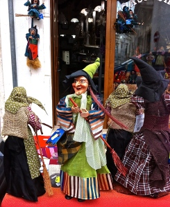 In Italy, you can take a befana statue home with you.