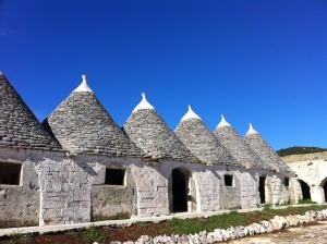 The oldest section of Masseria Pilano located on the plains below Martina Franca.
