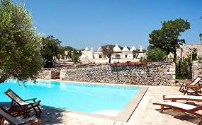 From trulli to a gorgeous swimming pool, Martina Franca's Masseria Fumarola has it all.