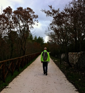 One in a long series of training walks on the Pugliese Aqueduct, Brian and I will swap our day packs for the backpacks we'll use on the Camino as we get closer to our departure date.