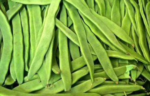 These long, flat pale green beans arrive early in the market full of flavor and texture.