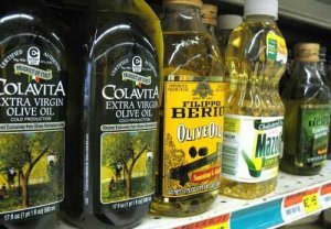 These olive oils sell for less than $8 a liter. In a year like this one (or just about any other year, really), know that it is extremely unlikely that you're getting bona fide extra virgin olive oil from Italy at this price. It is more likely highly refined olive oil made comestible by using chemical purifying agents. The resulting oil has extremely low antioxidant levels, a greasy mouth feel and very little flavor.