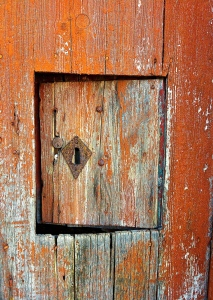 Culture is a little like this tiny door: open, just a little, but never fully penetrable.