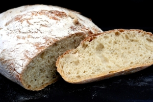 The easiest, most satisfying bread you can make yourself is also perfect for Cialedd'. Here's Jim Lahey's recipe as it appeared in the NY Times.