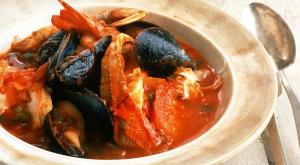 Zuppa di Pesce lends itself to customization. Go focused (mussels and clams) or go big (all the seafood you can think of). It's a meal in a bowl.