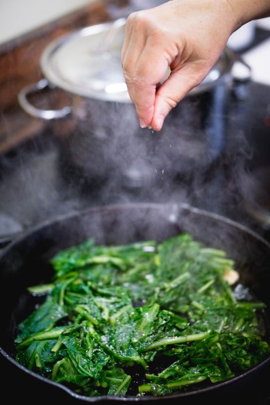 Dandelion Greens cooked